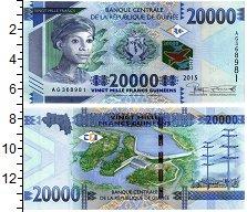 Изображение Банкноты Гвинея 20000 франков 2015  UNC