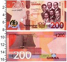 Изображение Банкноты Гана 200 седи 2019  UNC