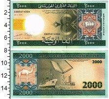 Изображение Банкноты Мавритания 2000 угий 2004  UNC