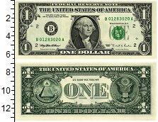 Изображение Банкноты США 1 доллар 1995  UNC
