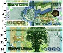 Изображение Банкноты Сьерра-Леоне 10000 леоне 2004  UNC
