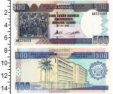 Изображение Банкноты Бурунди 500 франков 2003  UNC