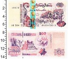 Изображение Банкноты Алжир 500 динар 1998  UNC
