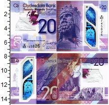 Изображение Банкноты Шотландия 20 фунтов 2005  UNC