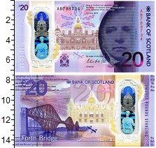 Изображение Банкноты Шотландия 20 фунтов 2019  UNC