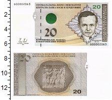 Изображение Банкноты Босния и Герцеговина 20 марок 2008  UNC