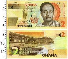 Изображение Банкноты Африка Гана 2 седи 2015  UNC