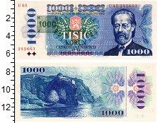 Изображение Банкноты Чехия 1000 крон 1993  UNC