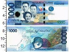 Изображение Банкноты Азия Филиппины 1000 писо 2010  UNC