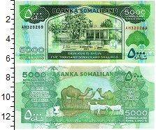 Продать Банкноты Сомалиленд 5000 шиллингов 2011