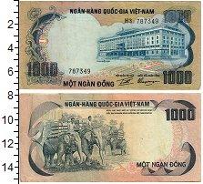 Изображение Банкноты Вьетнам 1000 донг 0  XF