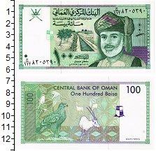 Изображение Банкноты Оман 100 байз 1995  UNC