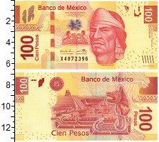 Изображение Банкноты Мексика 100 песо 2013  UNC