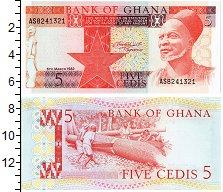 Изображение Банкноты Гана 5 седи 1982  UNC