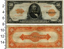 Изображение Банкноты Северная Америка США 50 долларов 1913  VF