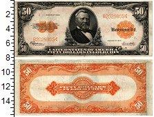 Изображение Банкноты США 50 долларов 1922  XF