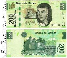 Изображение Банкноты Мексика 200 песо 2007  XF+