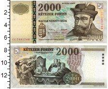 Изображение Банкноты Венгрия 2000 форинтов 2013  UNC