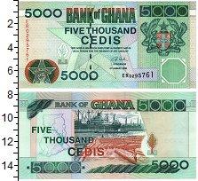 Изображение Банкноты Гана 5000 седи 2006  UNC