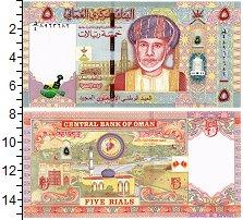 Изображение Банкноты Оман 5 риалов 0  UNC