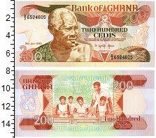 Изображение Банкноты Гана 200 седи 1990  UNC