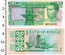 Изображение Банкноты Гана 1 седи 1982  UNC