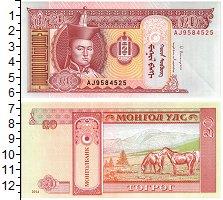 Изображение Банкноты Монголия 20 тугриков 2014  UNC