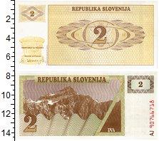 Изображение Банкноты Словения 2 толара 1990  UNC