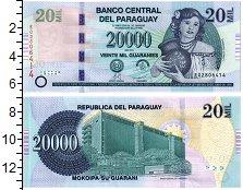 Изображение Банкноты Парагвай 20000 гуарани 2013  UNC