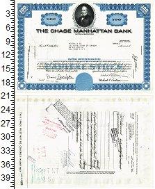 Изображение Банкноты США Облигация 1969  XF Манхетен банк