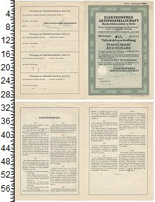 Изображение Банкноты Третий Рейх 500 марок 1937  XF 4% комунальная облиг