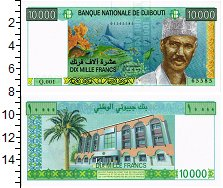 Изображение Банкноты Джибути 10000 франков 0  UNC