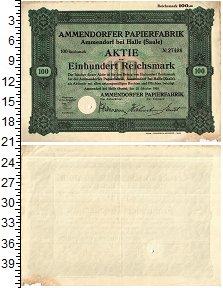 Изображение Банкноты Веймарская республика 100 марок 1929  VF