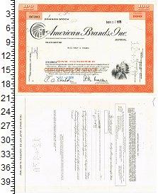 Изображение Банкноты США Облигация 1970  XF AMERICAN BRANDS, INC