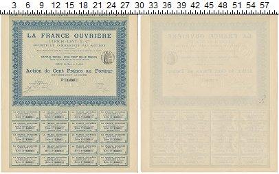 Изображение Банкноты Франция Облигация 1906  XF