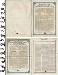 Изображение Банкноты Веймарская республика 5000 марок 1930  XF 5 1/2% облигация