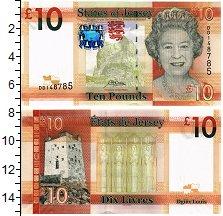 Изображение Банкноты Остров Джерси 10 фунтов 2019  UNC