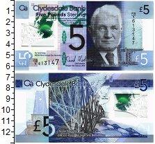 Изображение Банкноты Шотландия 5 фунтов 2015  UNC