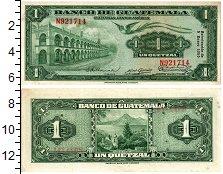 Изображение Банкноты Гватемала 1 кетцаль 1955  XF