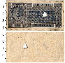 Изображение Банкноты Индия 4 анны 0  XF Штат Котан. Судебный