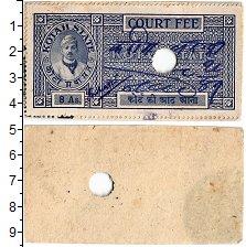 Изображение Банкноты Индия 8 анна 0  XF Судебный сбор.Штат K