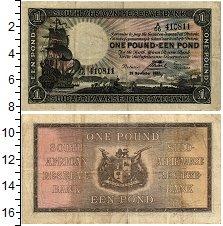 Изображение Банкноты ЮАР 1 фунт 1937  VF+