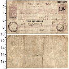 Изображение Банкноты ЮАР 10 шиллингов 1899  VF