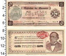 Изображение Банкноты Мексика 10 песо 1916  XF+