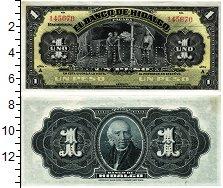 Изображение Банкноты Мексика 1 песо 1914  UNC- Эль-банко-де-Идальго