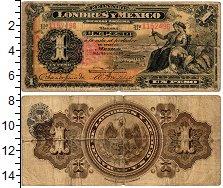 Изображение Банкноты Мексика 1 песо 1914  VF