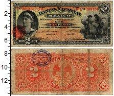 Изображение Банкноты Мексика 2 песо 1913  VF