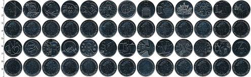 Изображение Наборы монет Великобритания Алфавит 0 Медно-никель UNC