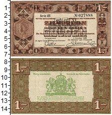 Изображение Банкноты Нидерланды 1 гульден 1938  XF Вильгельмина