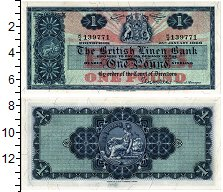 Изображение Банкноты Шотландия 1 фунт 1966  UNC